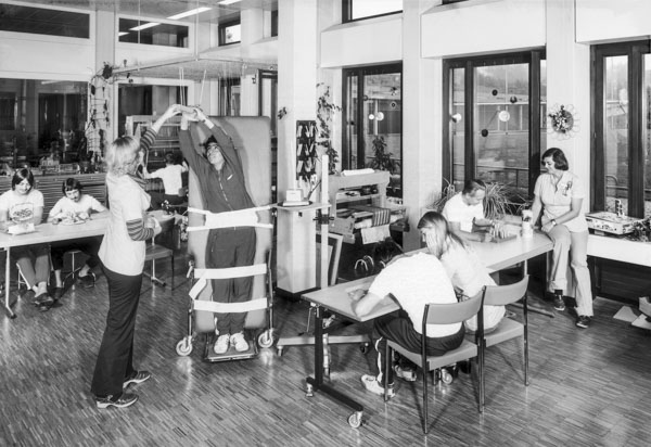 Neurologische Rehabilitation, ca. 1978