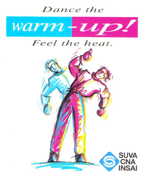 Logo «Dance the Warm up», diffusé en 1993